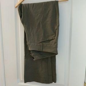 Olive Torrid sz 20 Tall dress pants